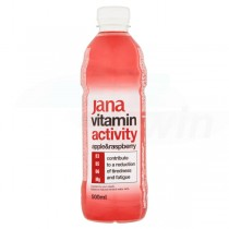 JANA vitamin water activity jablko-malina 0,5l /6ks