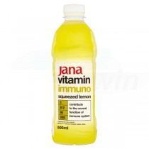 JANA vitamin water imuno citrón 0,5l /6ks