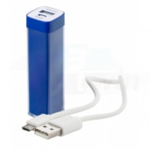 Power bank USB Sirouk - modrá