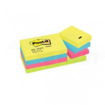 Bločky samolepiace Post-it Rainbow Active 38x51mm/12ks 653-TFEN