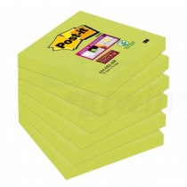 Bločky Post-it® Super Sticky - Asparagus 76x76mm 654-6SS-AW-EU