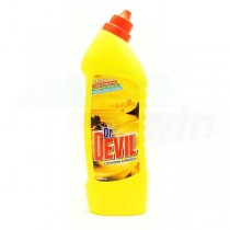 Dr.Devil WC čistič 750ml Lemon