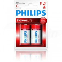 Batéria Philips PowerLife C (LR14) 1,5 V / 2ks  PHLR14PL