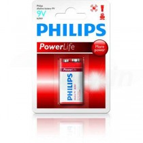 Batéria Philips PowerAlkaline 9V 6LR61  ph9VPL