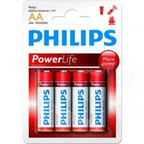 Batéria Philips PowerLife AA R6 / 4ks  phR6PL
