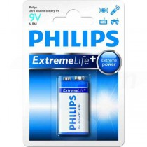 Batéria Philips Ultra Alkaline 9V (6LR61)  ph9VEL