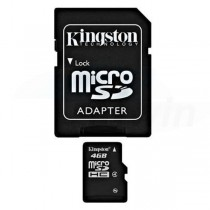 Pamäťová karta Mikro SDHC 16GB KINGSTON s adaptérom