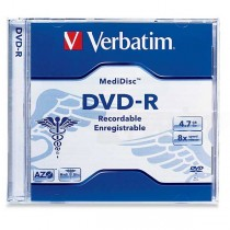 DVD-R Verbatim 4,7GB Medidisc  ve94905