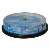 DVD-R TDK 4,7 GB, General, cake box, 16x, 10-pack