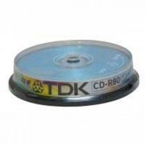 CD-R TDK 700MB cake box, 52x, 10-pack
