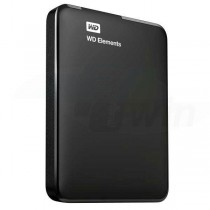 HDD externý disk WD Elements Portable 2.5'' 500GB, USB 3.0, SmartWare SW, čierny
