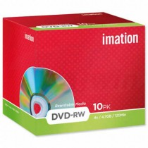 DVD-RW Imation 4,7GB 4x jewel case  im21061