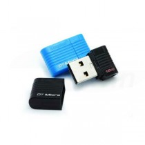 USB kľúč Kingston DataTraveler Micro 16GB USB 2.0 flashdisk, čierny
