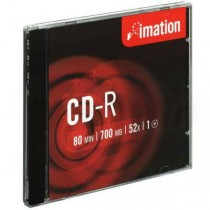 CD-R Imation 700MB 52X jewel case  im186443