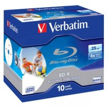 BD-R Verbatim SL 25GB 6x Jewel case - printable