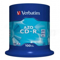 CD-R Verbatim 700MB 52x 100-pack cake box  ve43430 NEDOSTUPNÉ