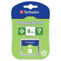 Pamäťová karta Verbatim Compact Flash 8GB Normal Speed