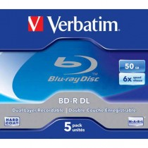 BD-R Verbatim DL 50GB 6x Jewel case