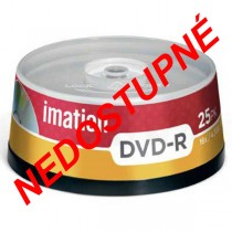 DVD-R Imation 4,7GB 16x 25ks cake box  im21979 NEDOSTUPNÉ