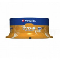 DVD-R Verbatim 4,7GB 16x 25ks cake box  ve43522