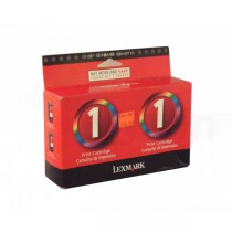 Toner Lexmark No.1 twin pack